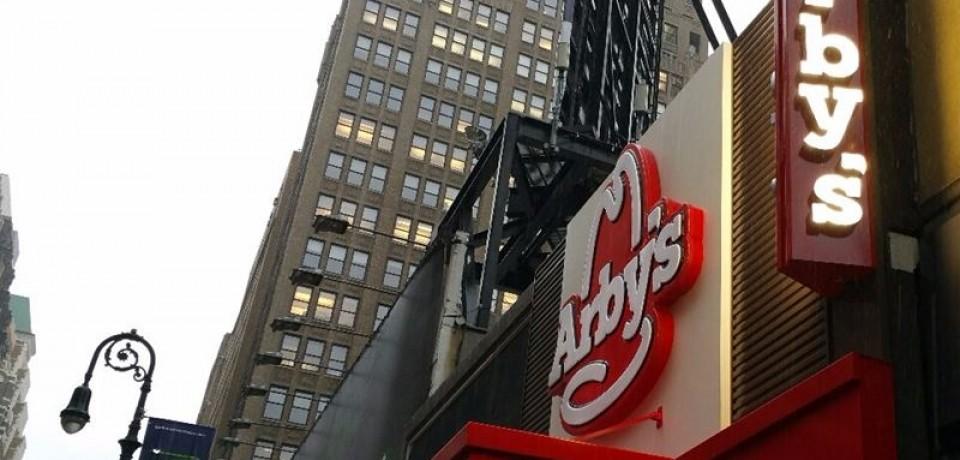 Сеть фастфуда Arby's открывает новый ресторан на Манхэттене