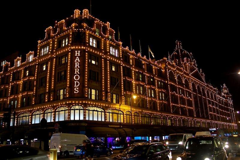 Фото ночного Лондона  (15)