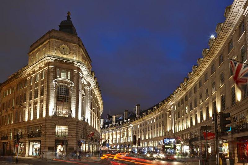 Фото ночного Лондона  (19)