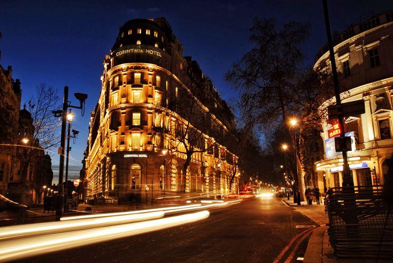 Фото ночного Лондона  (2)