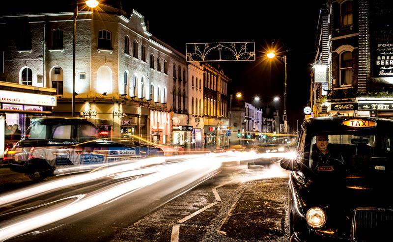 Фото ночного Лондона  (7)