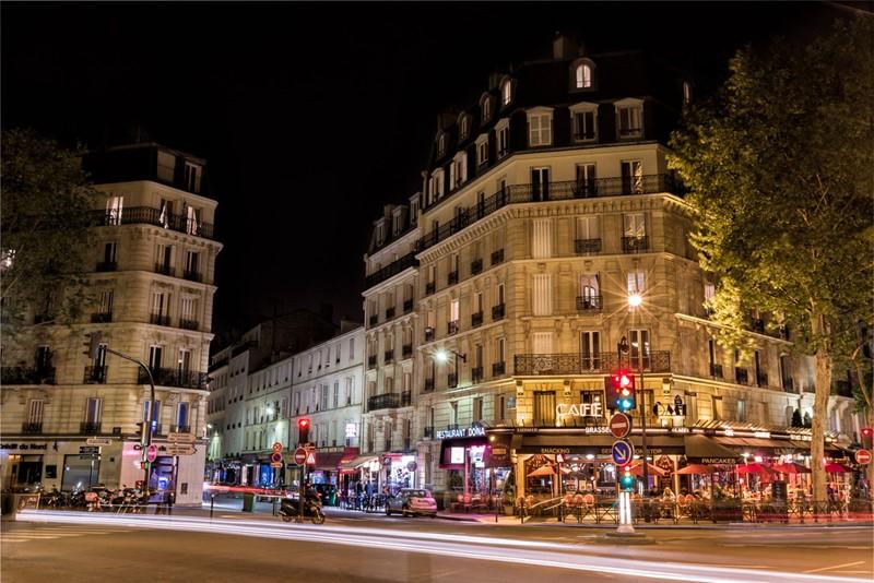 Ночной Париж фото (10)