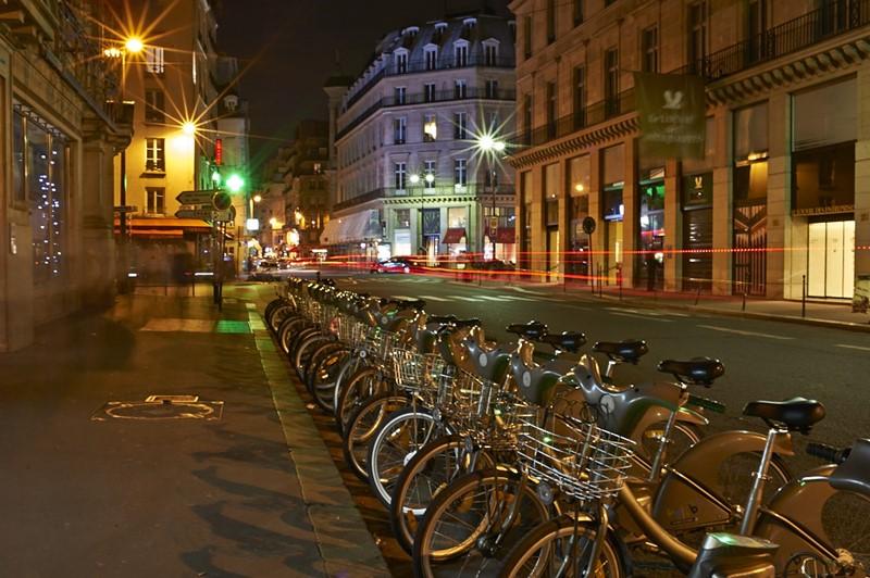 Ночной Париж фото (11)
