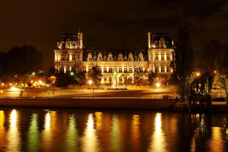 Ночной Париж фото (12)