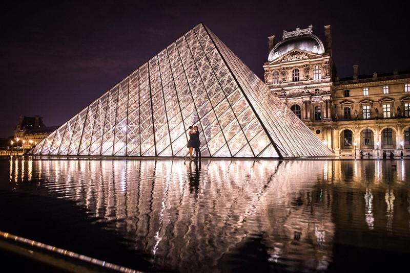 Ночной Париж фото (13)