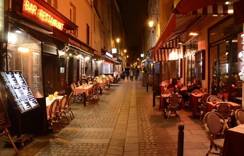 Ночной Париж фото (15)