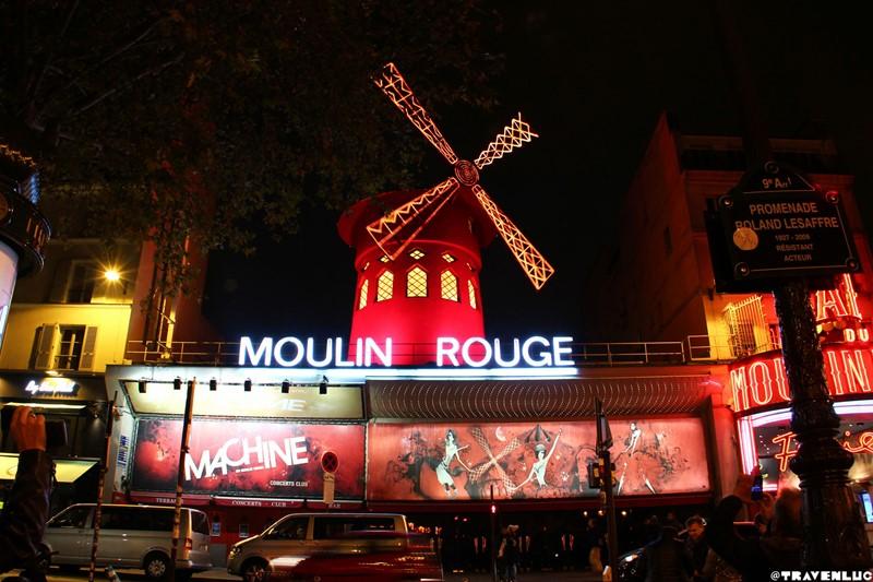 Ночной Париж фото (16)