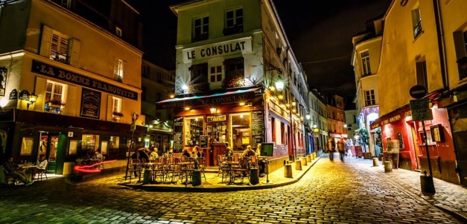 Ночной Париж: фото улиц и достопримечательностей