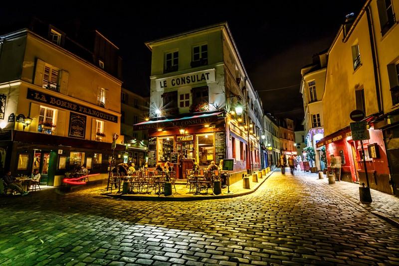Ночной Париж фото (17)