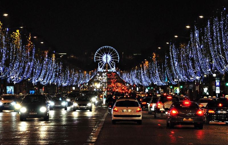Ночной Париж фото (19)