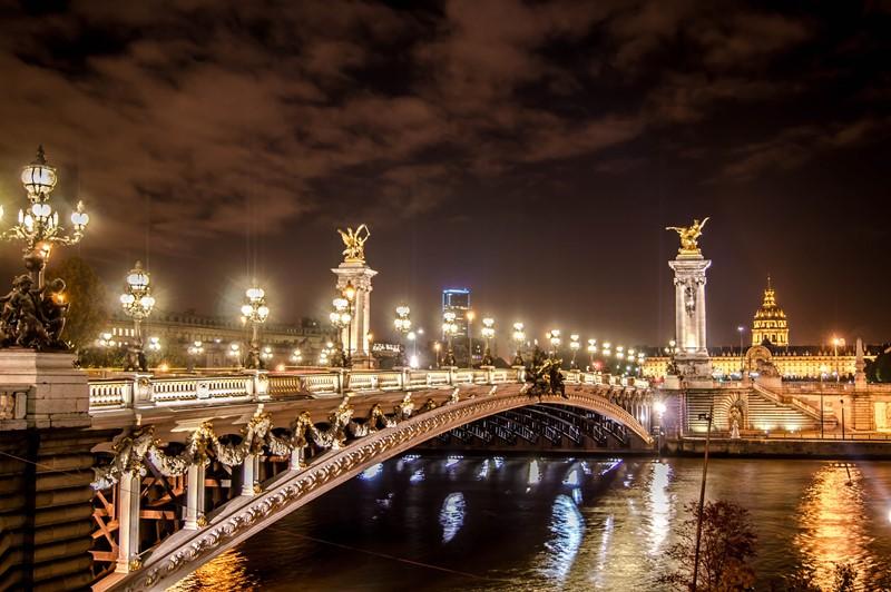 Ночной Париж фото (2)