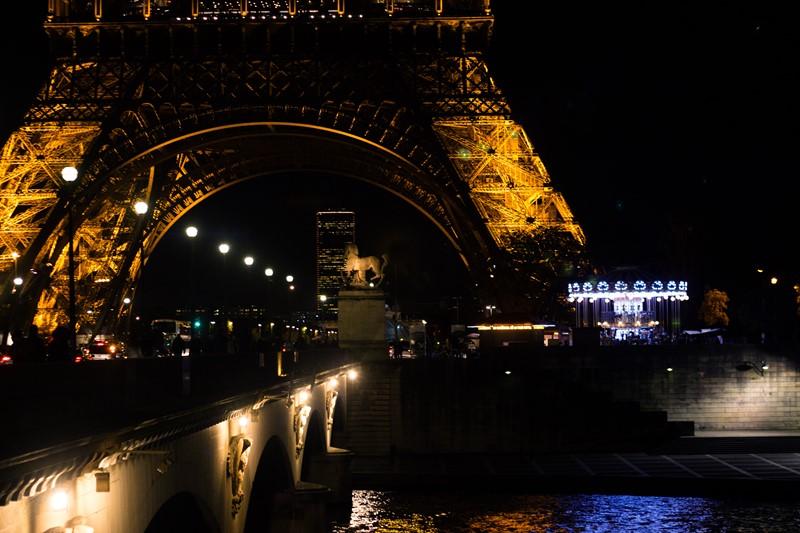 Ночной Париж фото (20)