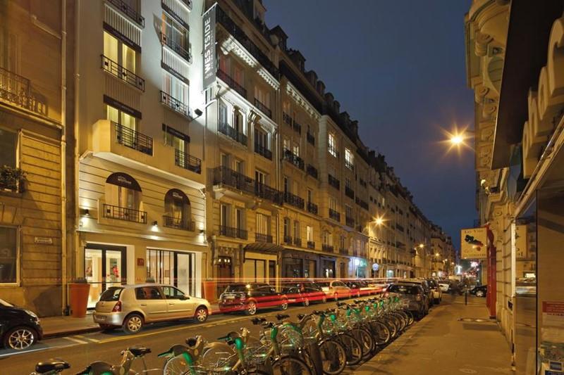 Ночной Париж фото (22)