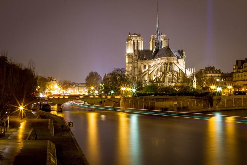 Ночной Париж фото (23)