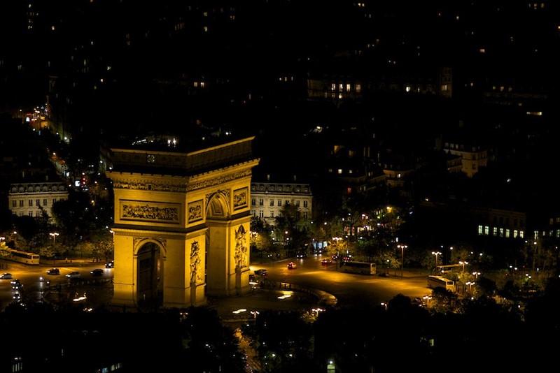 Ночной Париж фото (25)