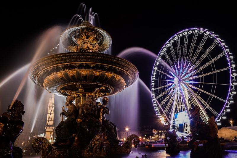 Ночной Париж фото (5)