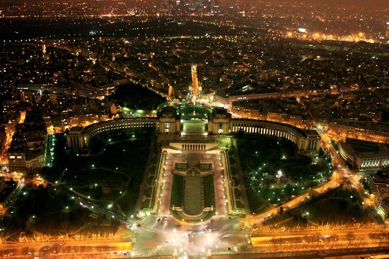 Ночной Париж фото (7)