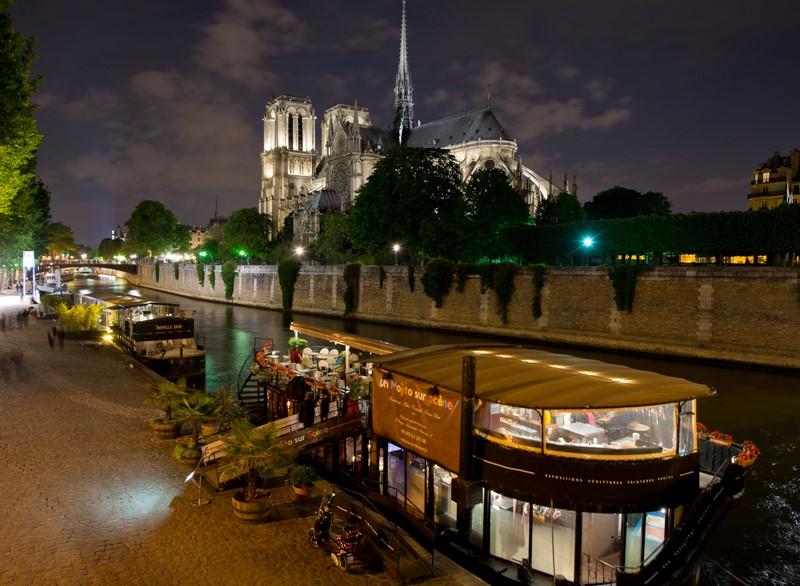 Ночной Париж фото (8)