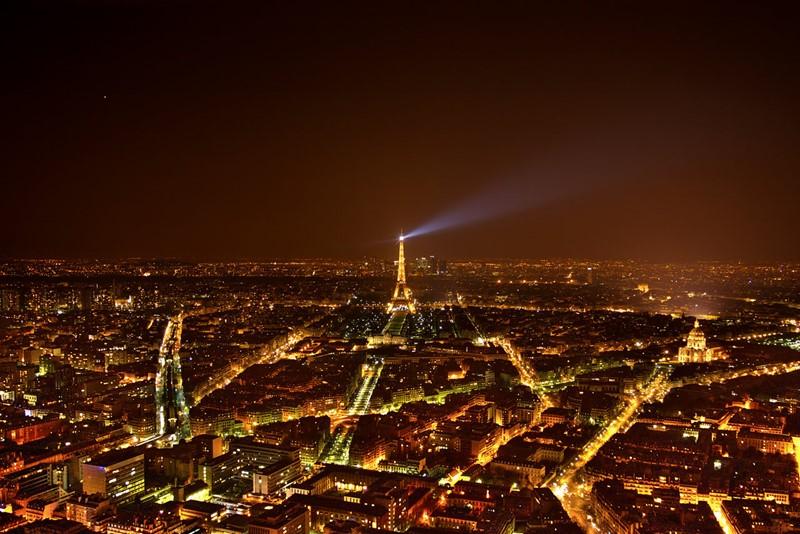 Ночной Париж фото (9)