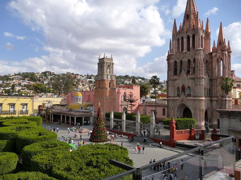 Города Мексики, Сан-Мигель де Альенде