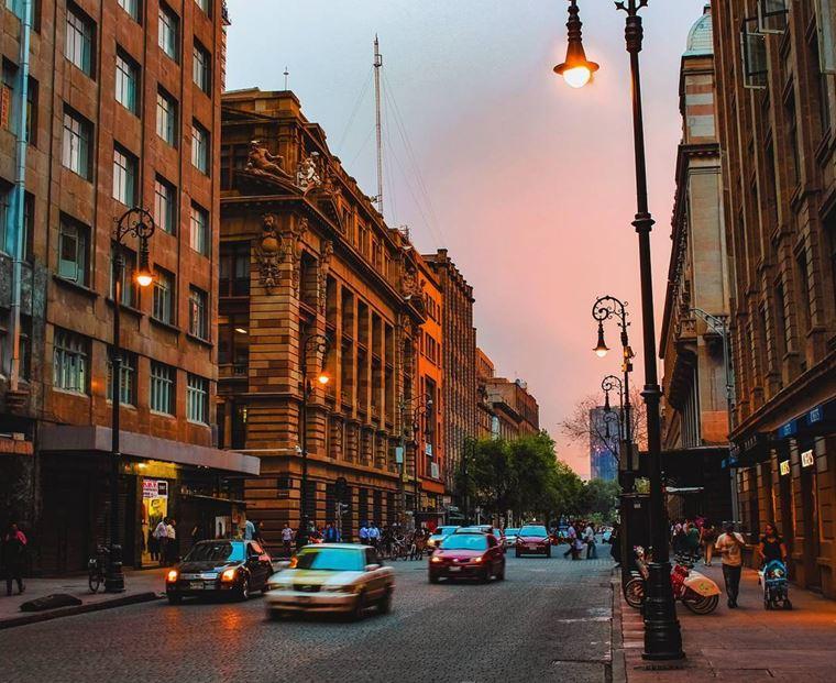 Крупные и красивые города Мексики Мехико