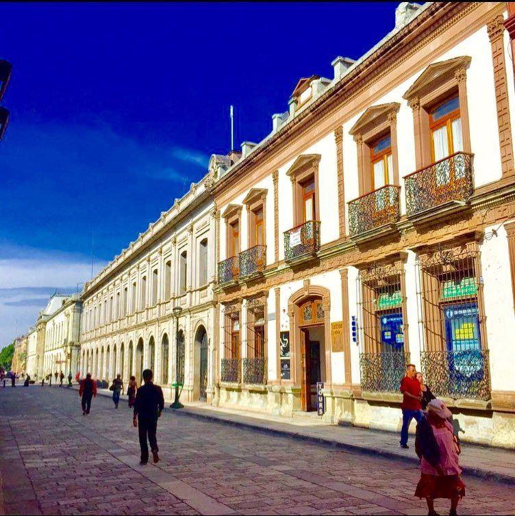 Крупные и красивые города Мексики: Оахака-де-Хуарес