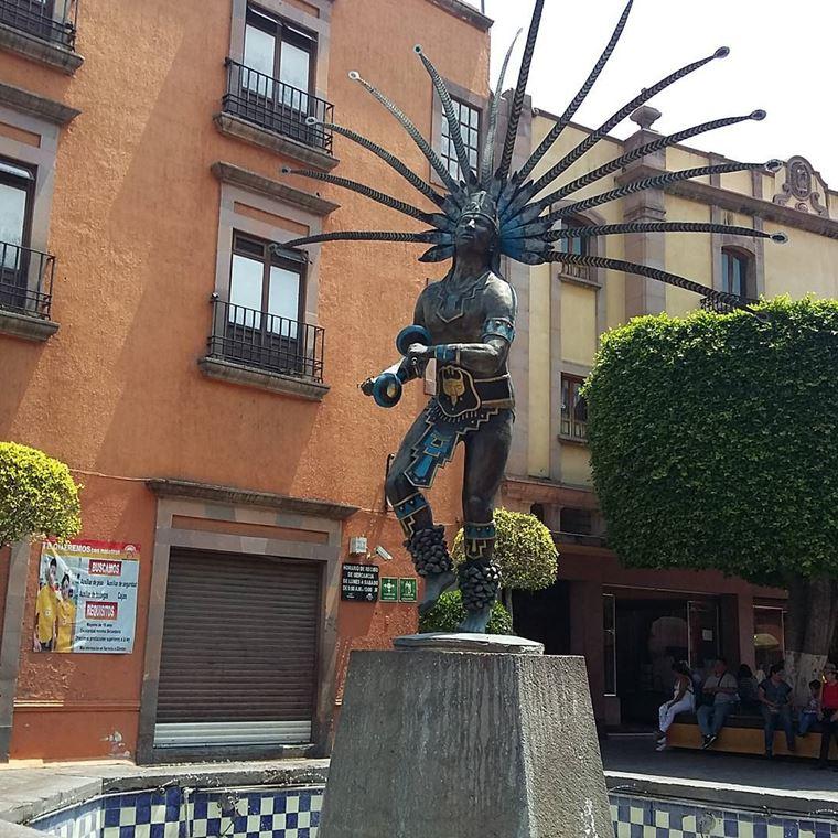 Крупные и красивые города Мексики: Сантьяго-де-Керетаро