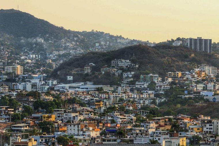 Крупные и красивые города Мексики: Акапулько