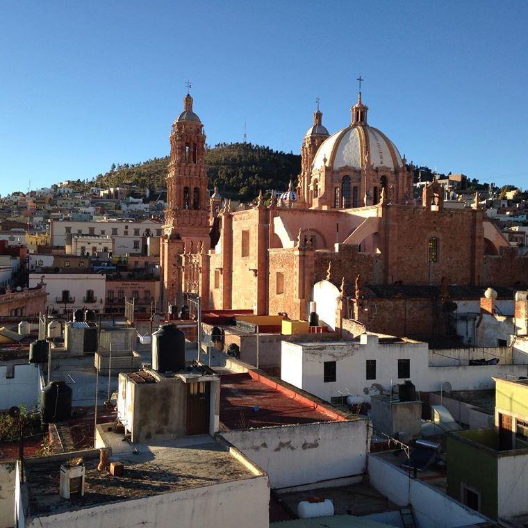 Крупные и красивые города Мексики: Сакатекас