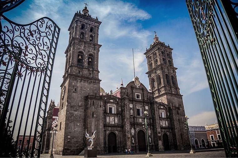 Крупные и красивые города Мексики: Пуэбла