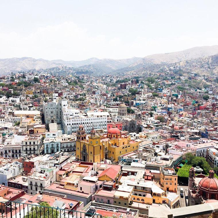 Крупные и красивые города Мексики: Гуанахуато