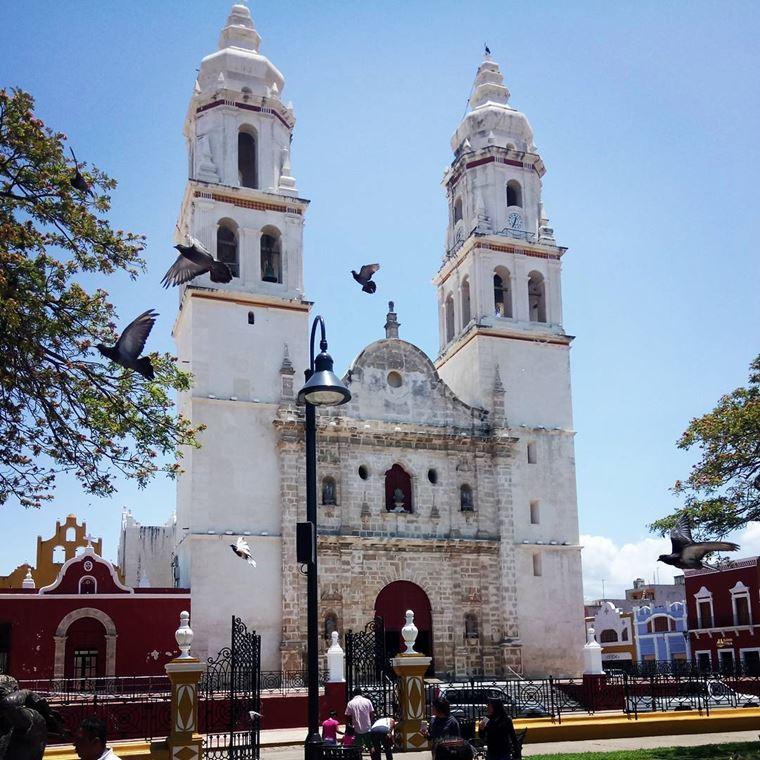 Крупные и красивые города Мексики: Сан-Франсиско-де-Кампече