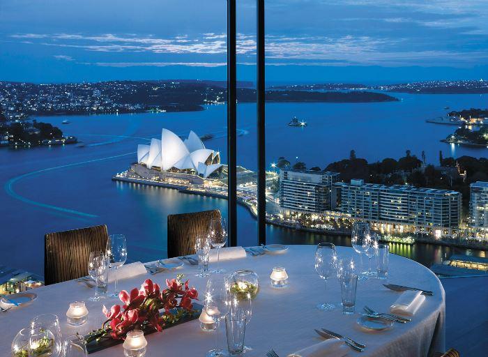 Рестораны с панорамным видом: Altitude, Shangri-La (Сидней, Австралия)