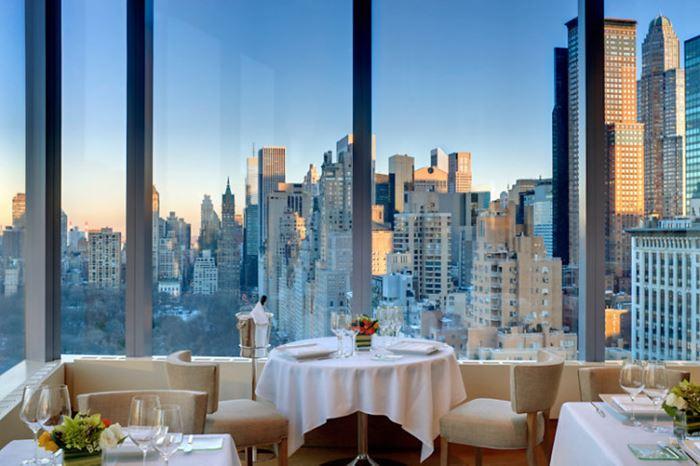 Рестораны с панорамным видом: Asiate (Нью-Йорк, США)