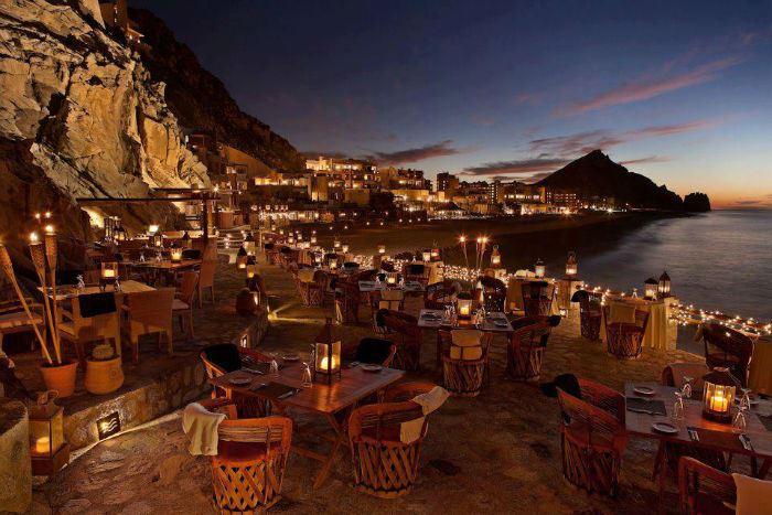 Рестораны с панорамным видом: El Farralon, (Кабо Сан-Лукас, Мексика)