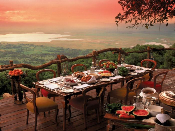 Рестораны с панорамным видом: Gorongoro (Нгоронгоро, Танзания)