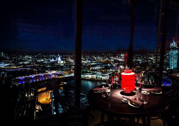 Рестораны с панорамным видом: Hutong (Лондон, Великобритания)