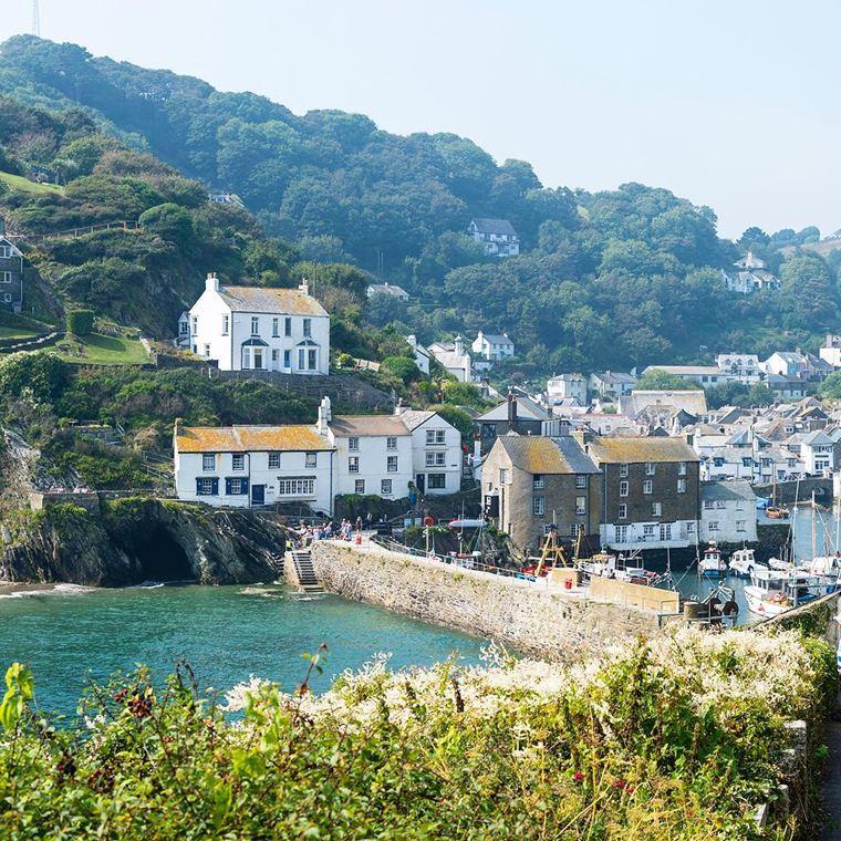 Красивые деревни Великобритании: Полперро