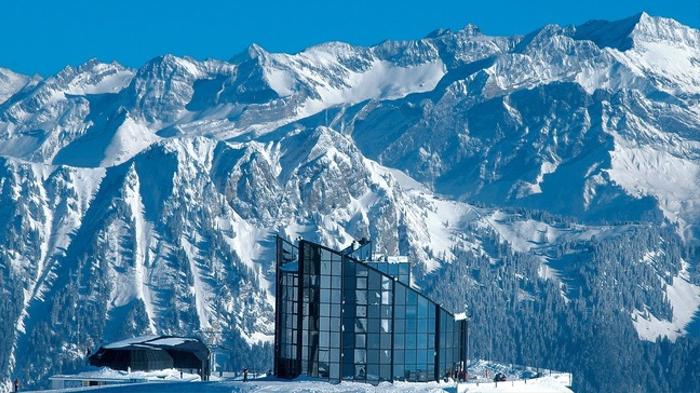 Рестораны с панорамным видом: Kyklos (Лейзин, Швейцария)