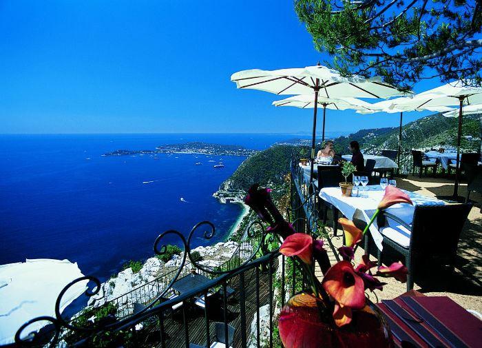 Рестораны с панорамным видом: Le Café du Jardin (Эз, Франция)