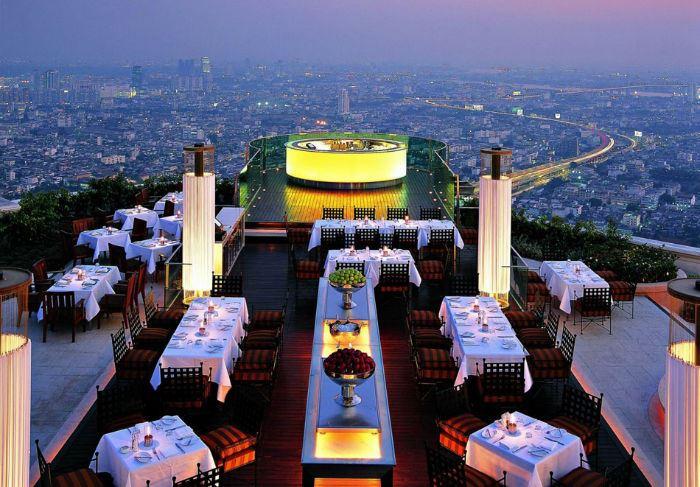 Рестораны с панорамным видом: Lebua at State Tower (Бангкок, Таиланд)
