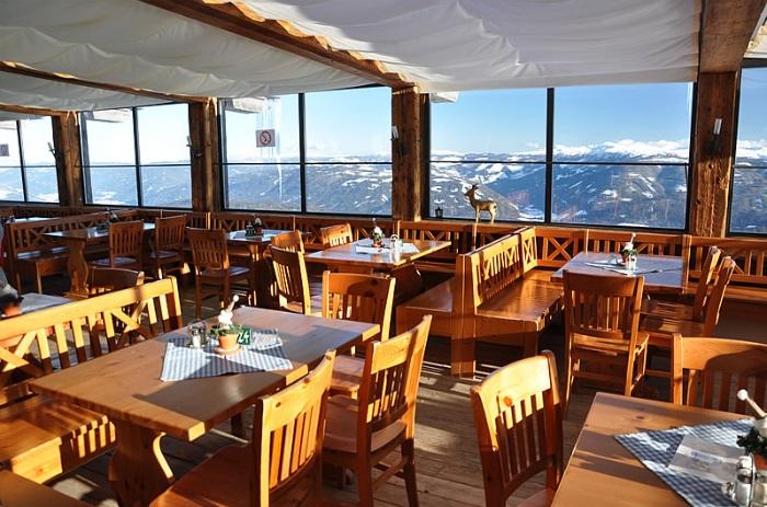 Рестораны с панорамным видом: Panorama Alm (Заальбах, Австрия)