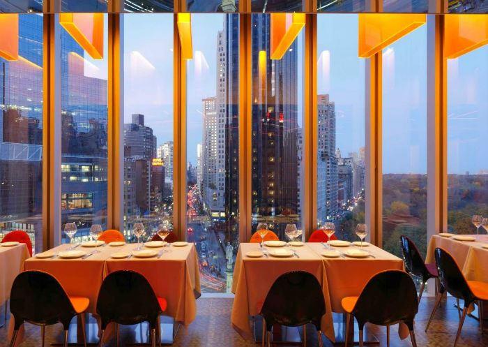 Рестораны с панорамным видом: Robert (Нью-Йорк, США)