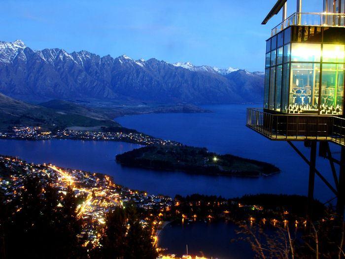 Рестораны с панорамным видом: Skyline (Куинстаун, Новая Зеландия)