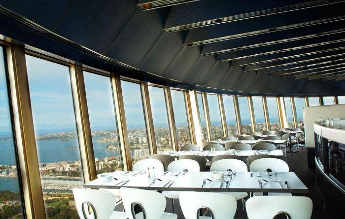 Рестораны с панорамным видом: Sydney Tower Buffet (Сидней, Австралия)