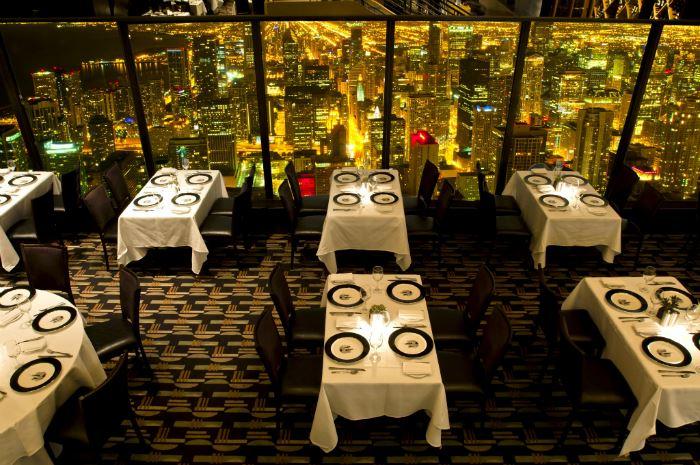 Рестораны с панорамным видом: The Signature Room at the 95th (Чикаго, США)