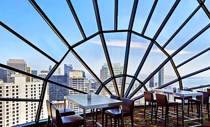 Рестораны с панорамным видом: The View (Сан-Франциско, США)