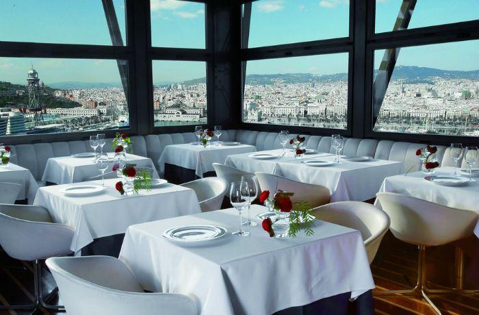 Рестораны с панорамным видом: Torre del Mar (Барселона, Испания)