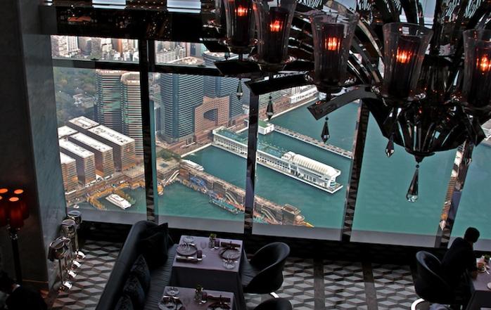 Рестораны с панорамным видом: Tosca (Гонконг, Китай)