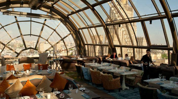 Рестораны с панорамным видом: White Rabbit (Москва, Россия)